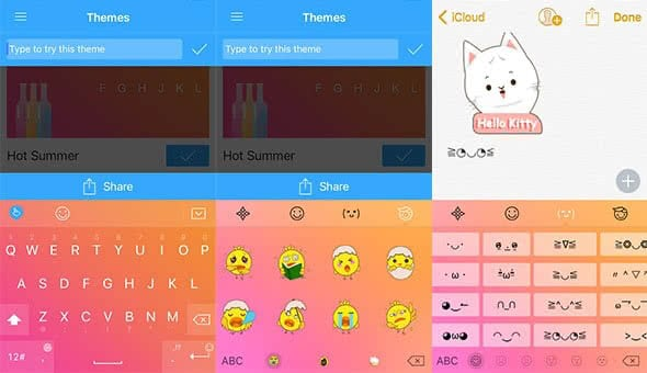Free TouchPal app as an alternative keyboard for your iPhone